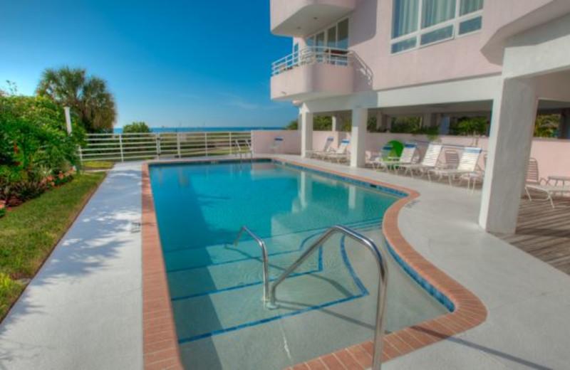 Rental pool at Anna Maria Vacations.