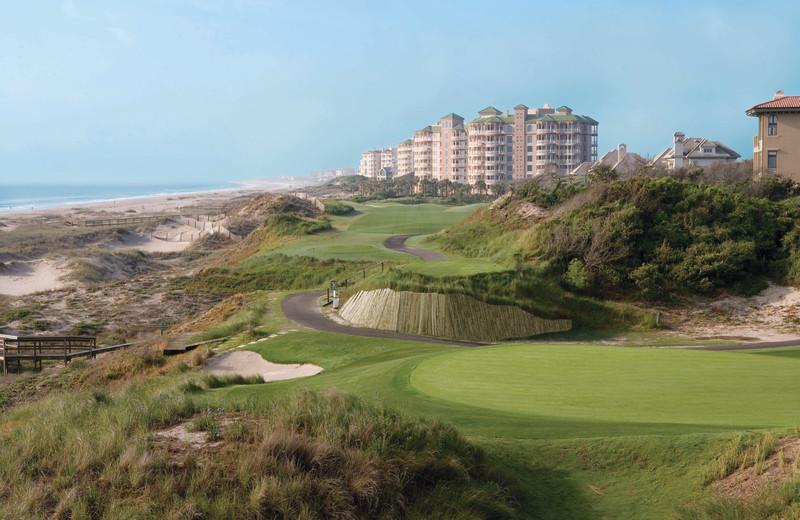 Golf course at Omni Amelia Island Plantation.