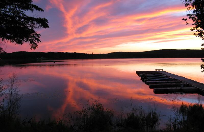 The Lake at Golden Hook Camp