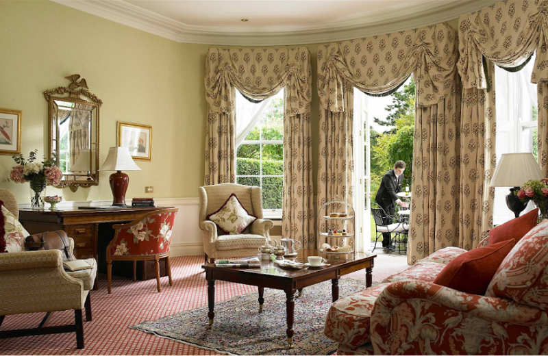 Guest room at Kildare Hotel and Country Club.