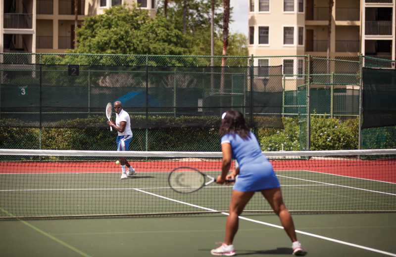 Tennis at Holiday Inn Club Vacations at Orange Lake Resort.