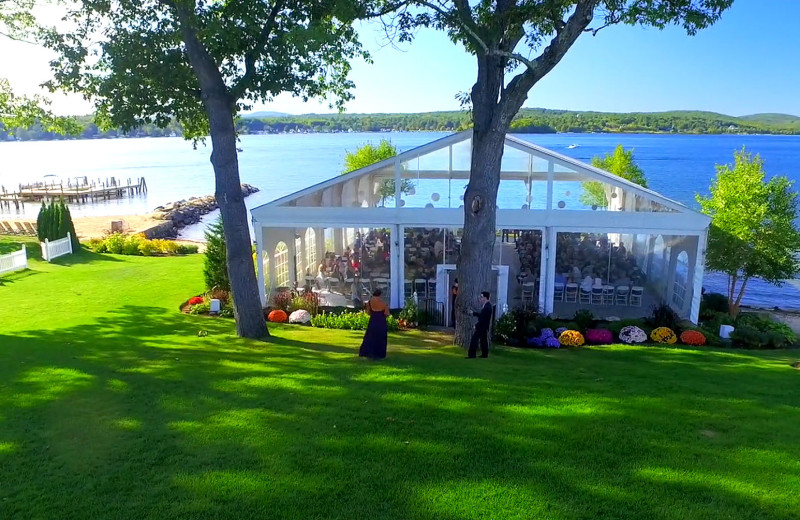 Wedding at The Margate on Winnipesaukee.