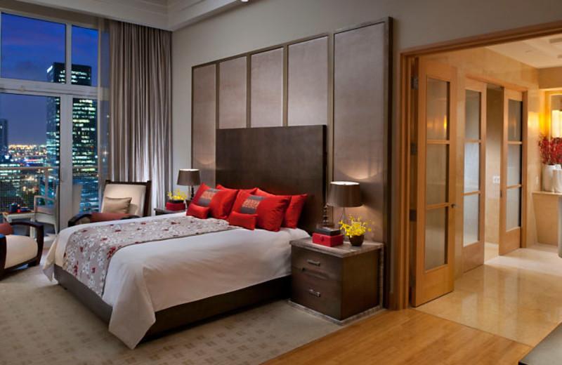 Guest room at Mandarin Oriental, Miami.