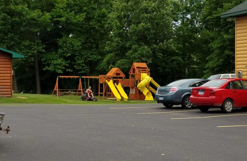 Playground at McQuoid's Inn & Event Center.