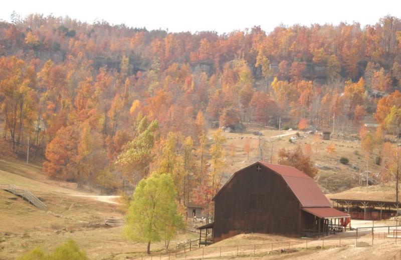 Barn Exterior at Horseshoe Canyon Ranch