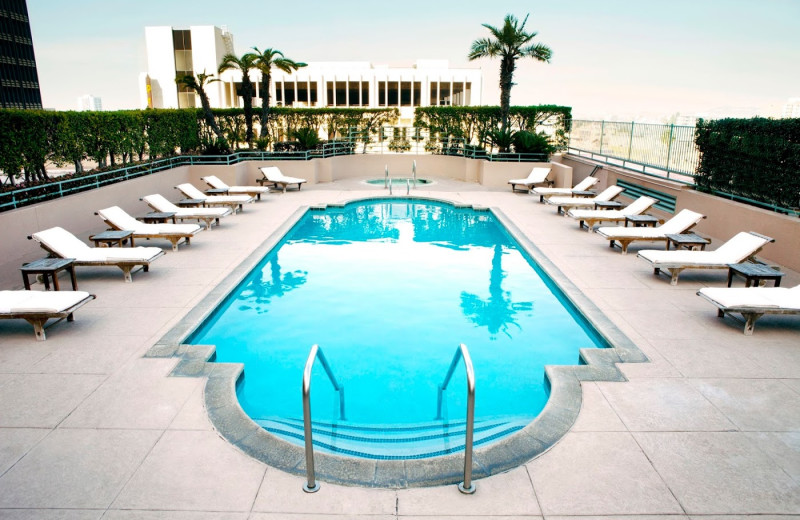 Outdoor pool at The Westin Long Beach.