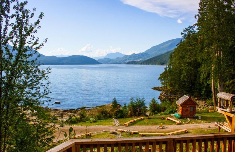 Scenic view at Wilderness Resort & Retreat.