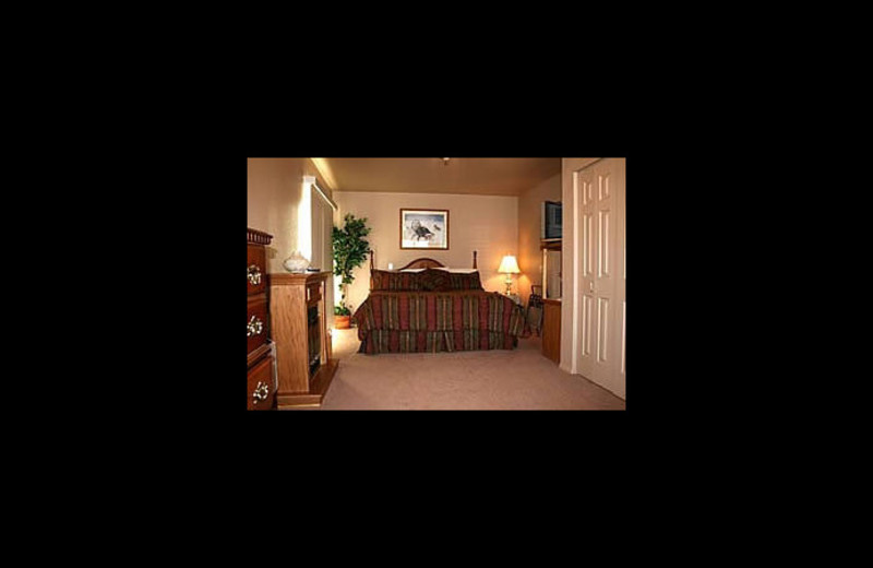 Guest room at A Touch of Sedona.