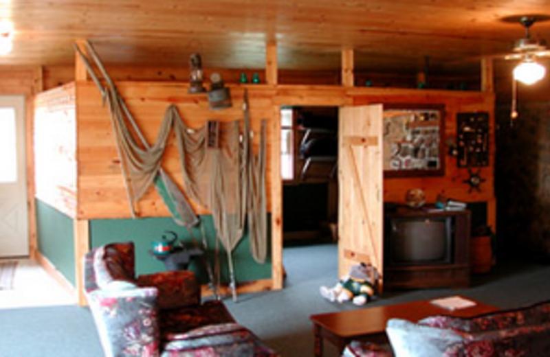 Cabin Interior at Cedar Ridge Resort