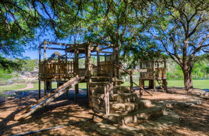 Playground at Mo-Ranch.
