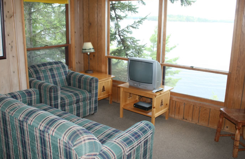 Cabin Interior at Sha Sha Resort