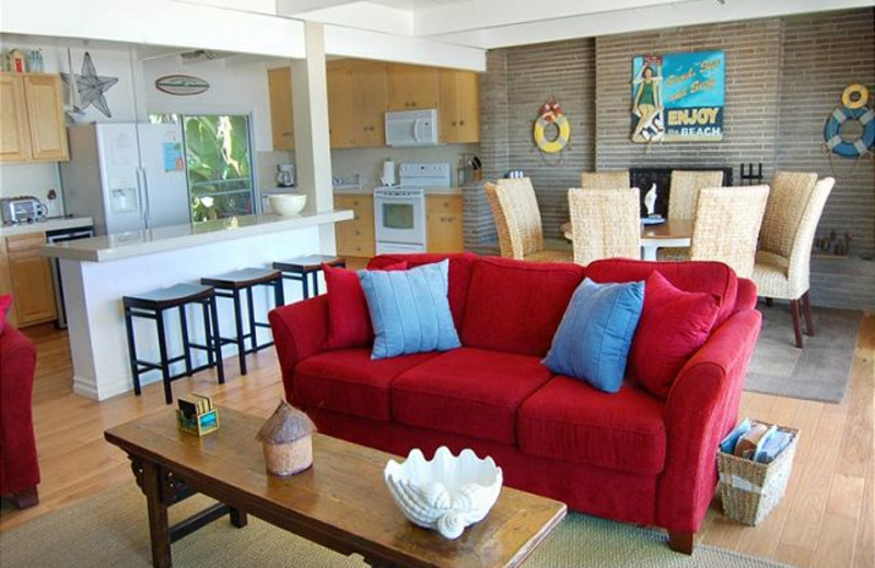 Rental interior at Capistrano Realty.