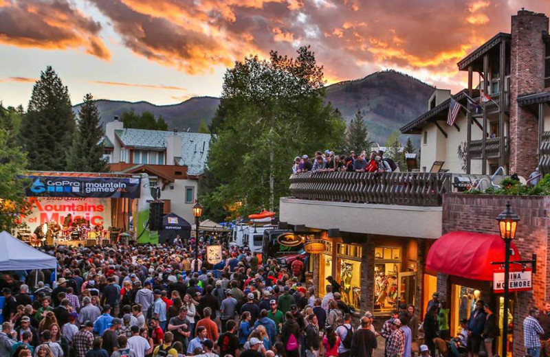 Festival at Vail's Mountain Haus.