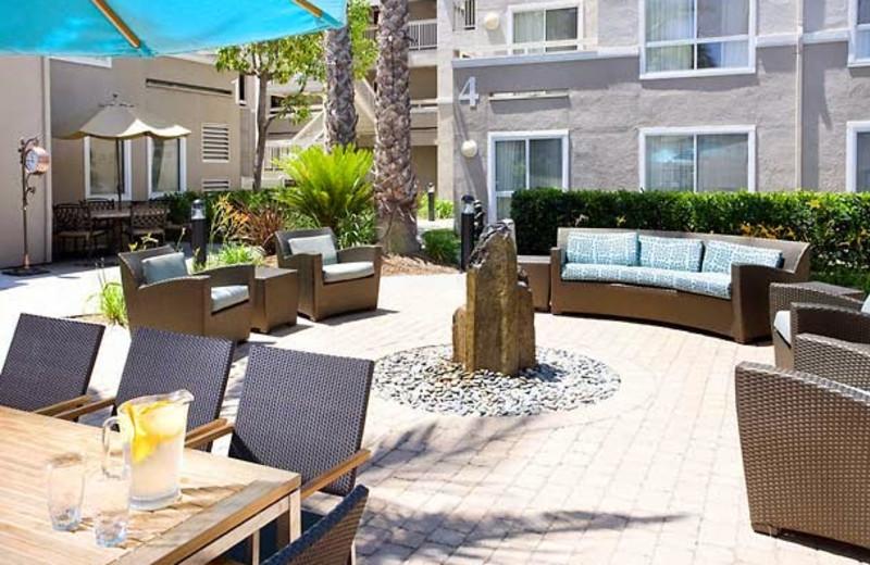 Patio at Residence Inn by Marriott San Diego- Rancho Bernardo/Carmel Mountain Ranch.