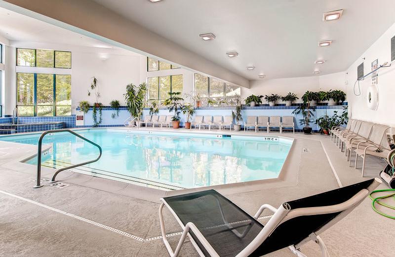 Indoor pool at GetAway Vacations.