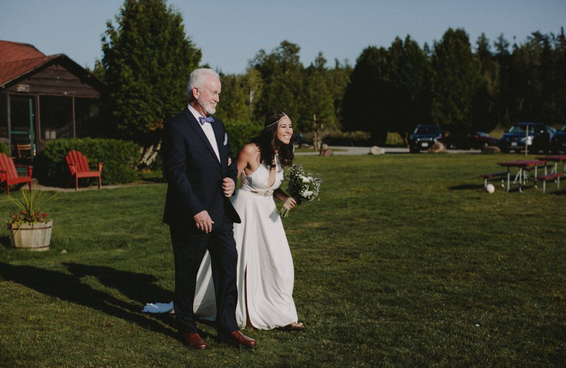 Bride's Excitement
