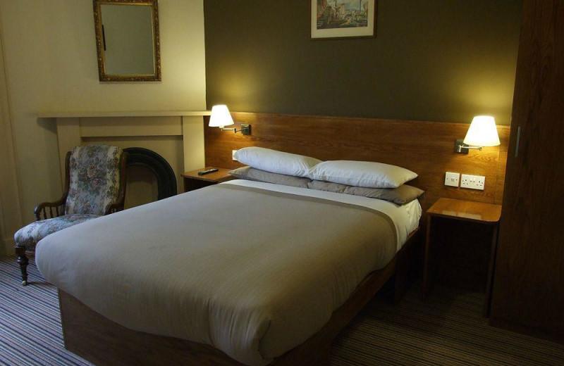 Guest room at St Bernards House.