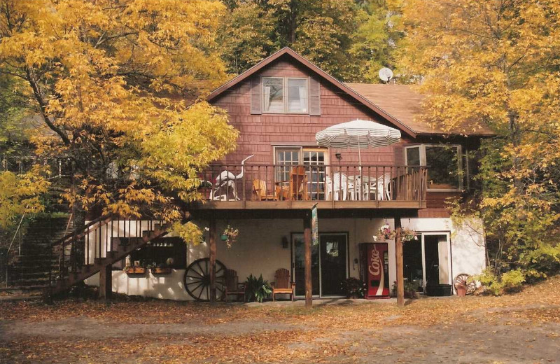 Exterior View of Lure of the Loon Resort