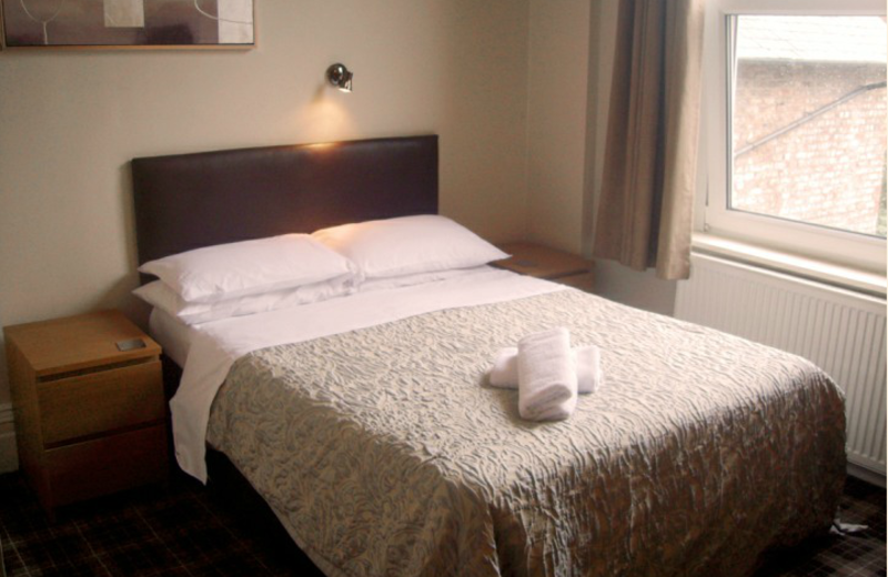 Guest room at Moorgarth Guest House.
