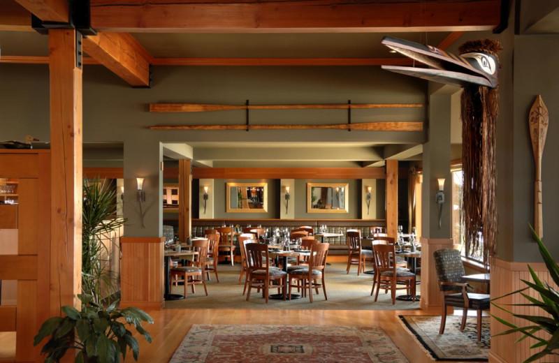 Dining at Long Beach Lodge Resort.