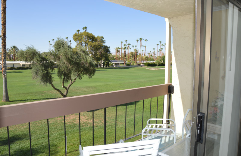 Rental balcony at Padzu Vacation Homes - Palm Springs