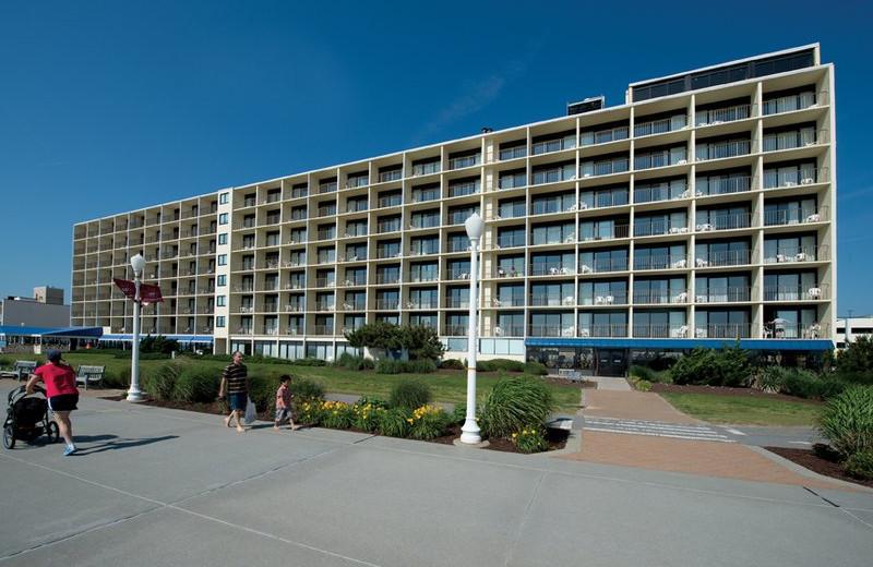 Exterior view of Best Western PLUS Oceanfront Virginia Beach.