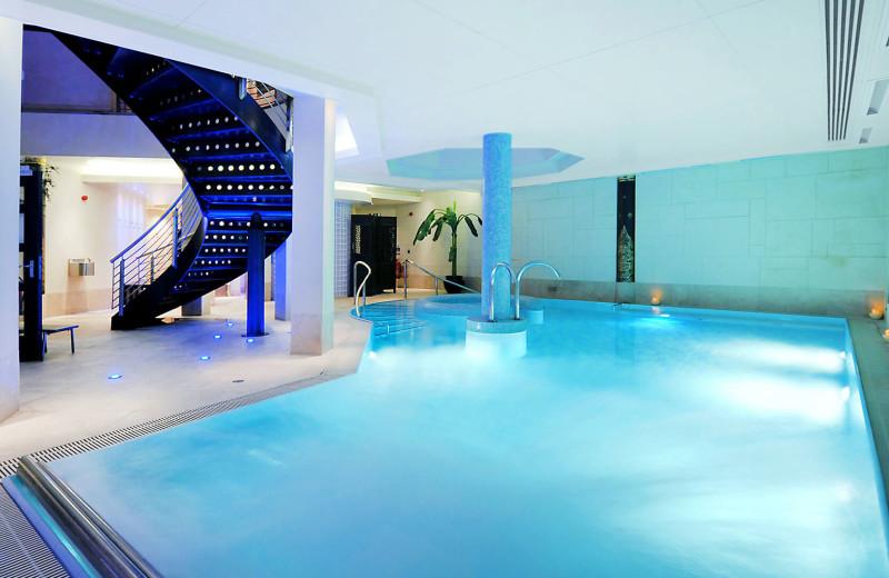 Indoor pool at Careys Manor.