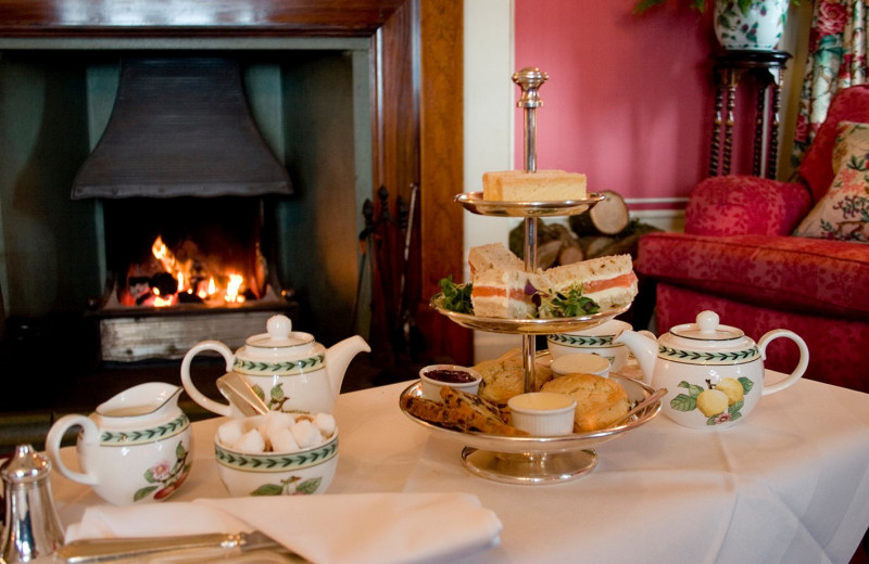 Tea time at Holbeck Ghyll Country House Hotel.