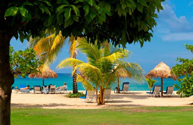 Beach at Jamaica Inn.