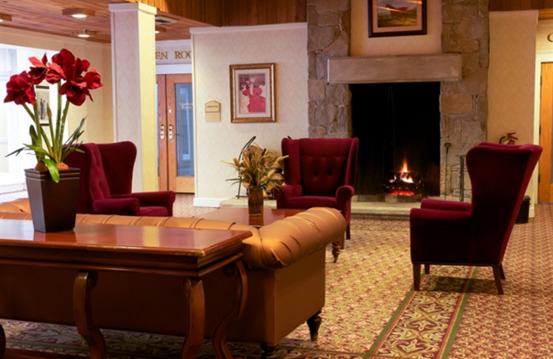 Lounge area at The Heritage Hotel.