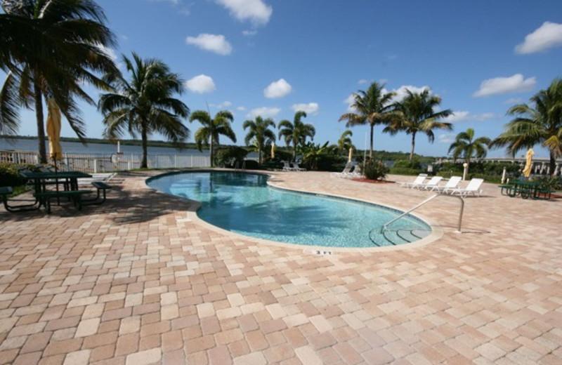 Outdoor pool at Boca Ciega Resort.