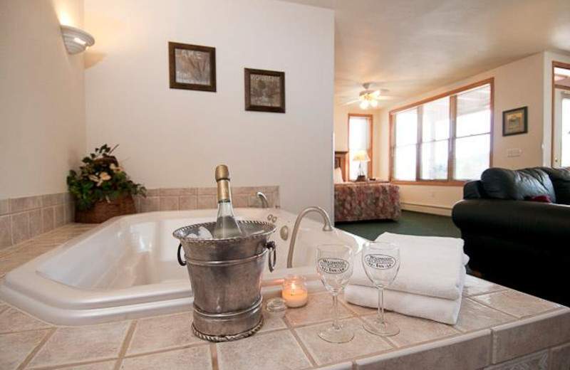 Luxury Bathroom at  Wildwood Inn