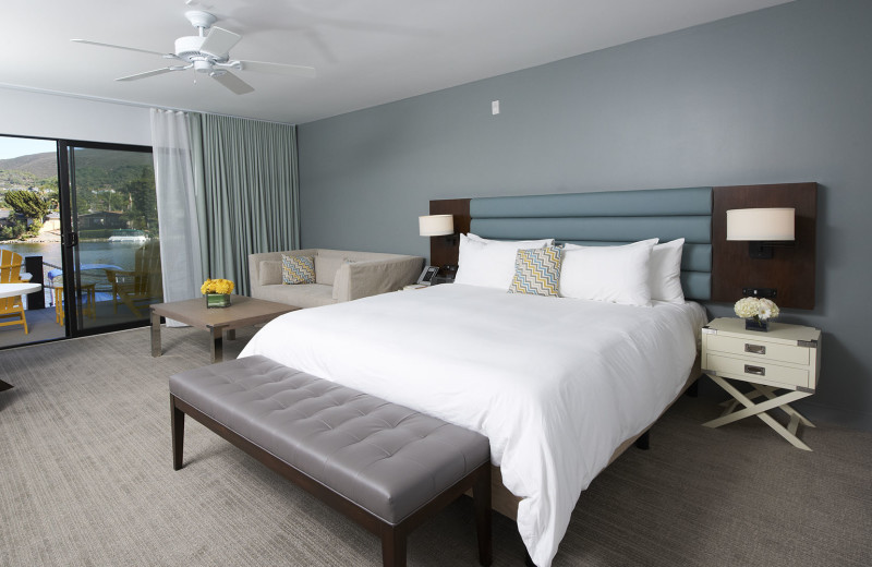 Guest room at Lake San Marcos Resort & Country Club.