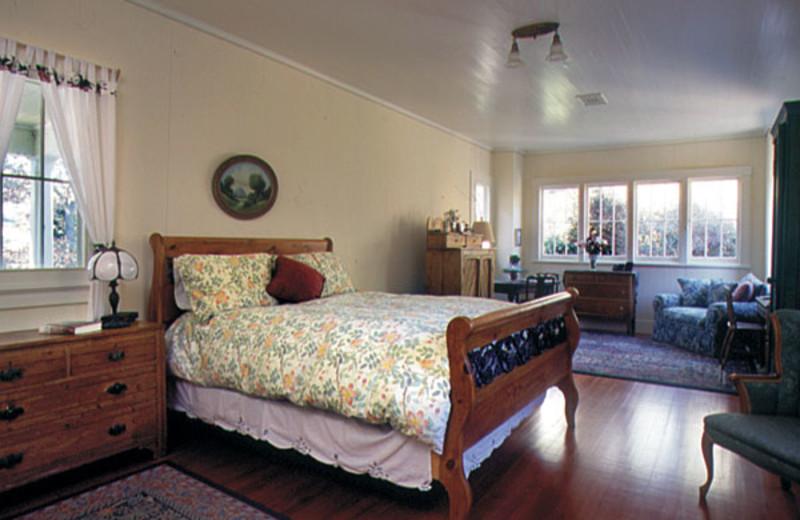 Guest room at Historic Sand Rock Farm B & B.