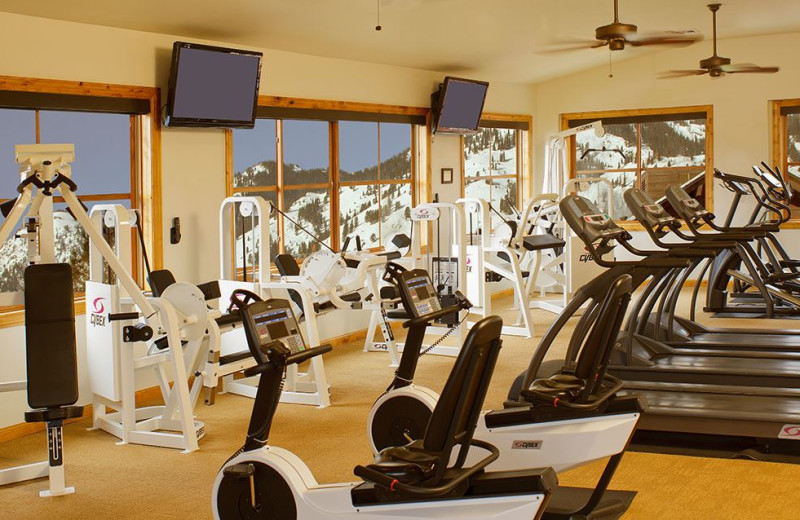 Fitness Center at Snake River Lodge & Spa