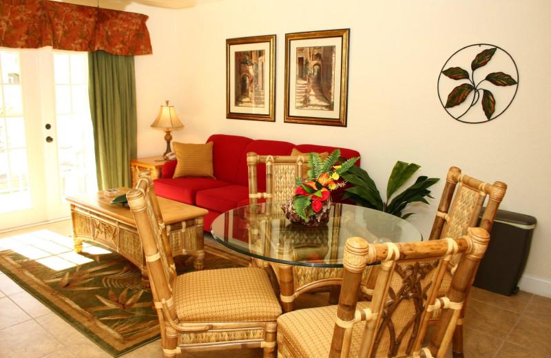Guest room at Beso Del Sol Resort.