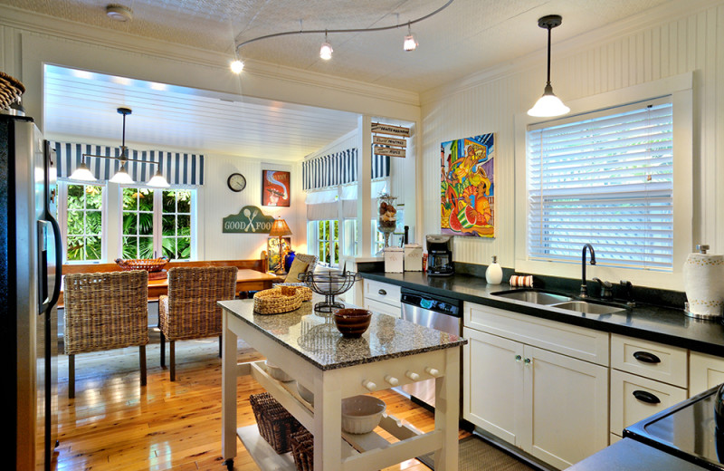 Vacation rental kitchen at Rent Key West Vacations.