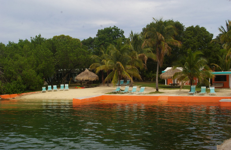 Exterior view of Rock Reef Resort.