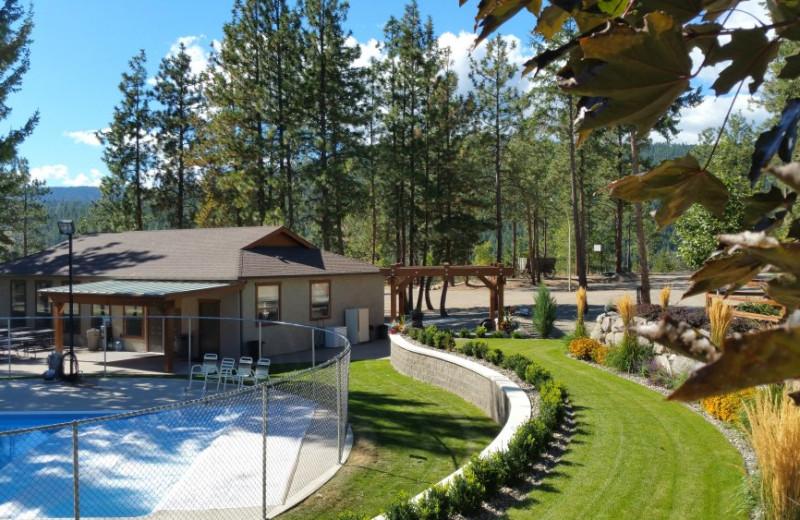 Pool at Powers Creek Retreat.