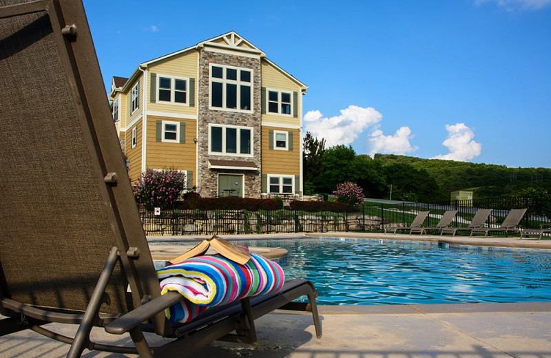 Outdoor pool at Vacation Home in Branson.