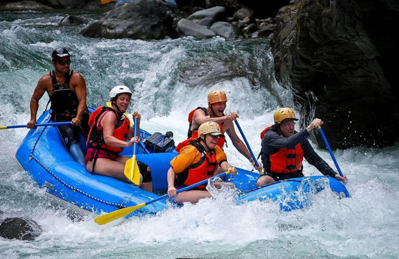 Rafting at Arenal Country Inn.