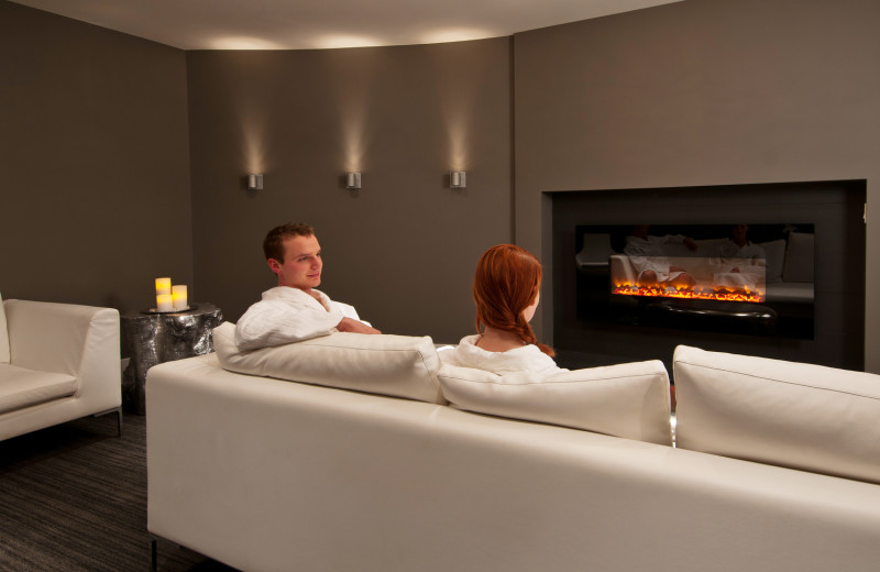 Spa lounge at Solara Resort & Spa.
