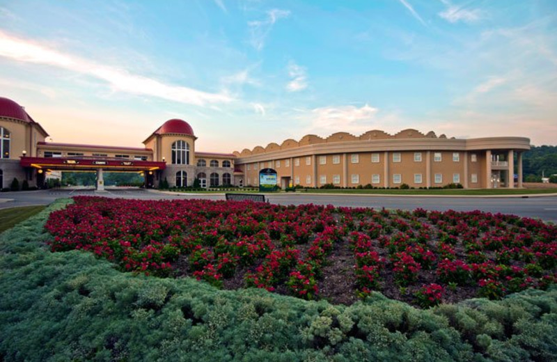 Exterior of French Lick Resort.