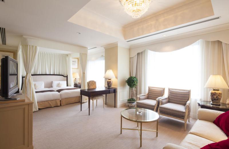 Guest suite at Dai-ichi Hotel Tokyo.