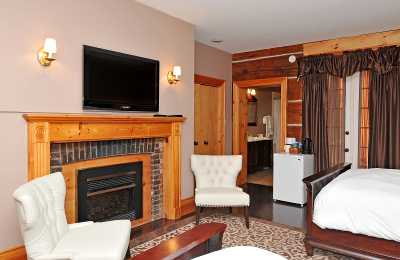 Guest living room at Eganridge Resort, Country Club & Spa.