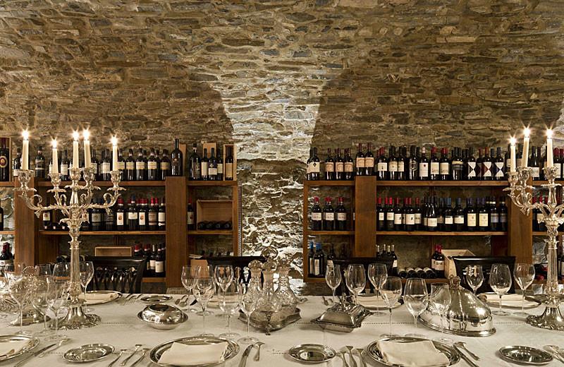 Dining at Palazzo Mannaioni.