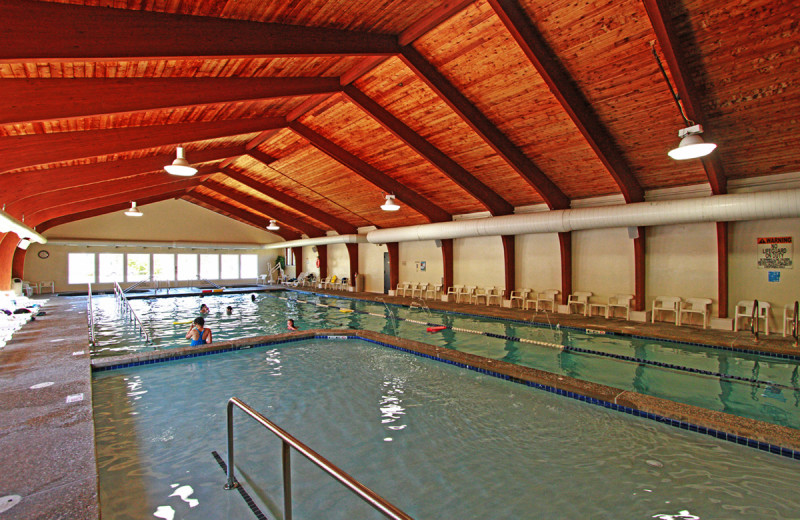 Indoor pool at Waterville Valley.