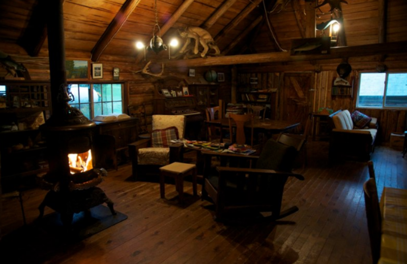 Cabin Interior at West Branch Pond Camps