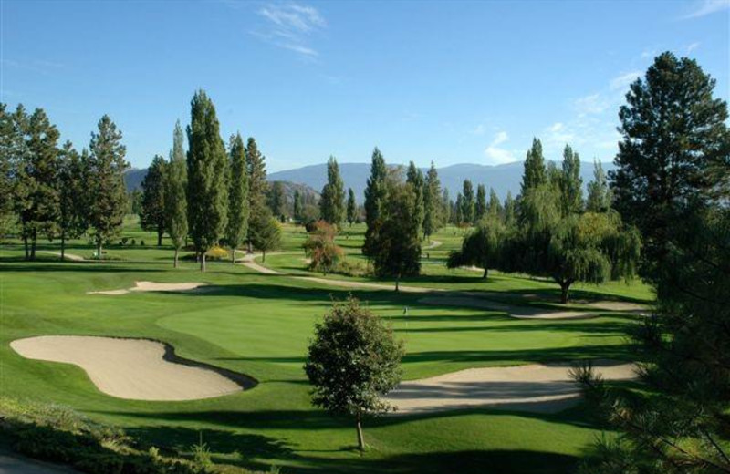 Golf course near Summerland Waterfront Resort.