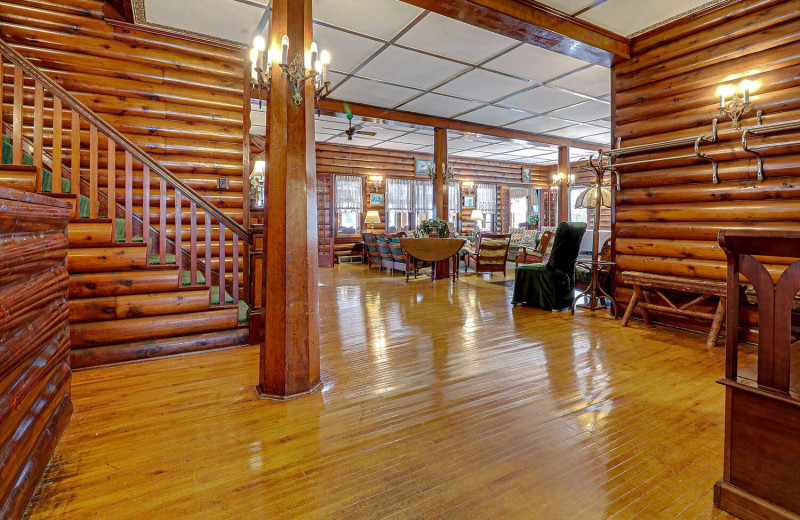 Interior at Legacy Lodge.